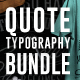 Quote Typography T-Shirts Bundle - GraphicRiver Item for Sale
