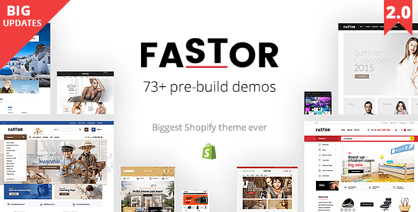 Fastor – Multipurpose Shopify Sections Theme