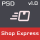 Shop Express PSD Template - ThemeForest Item for Sale