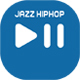 Emotional Jazz Piano & Groove HipHop Beat, 90s Hotel Lounge Club