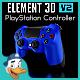 PlayStation Controller for Element 3D - 3DOcean Item for Sale