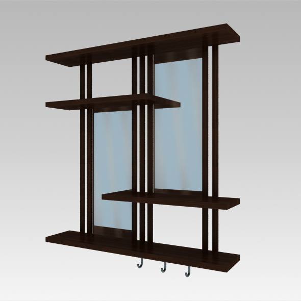 Shelves - 3DOcean Item for Sale