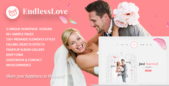 Wedding WordPress | EndlessLove Wedding - Wedding WordPress