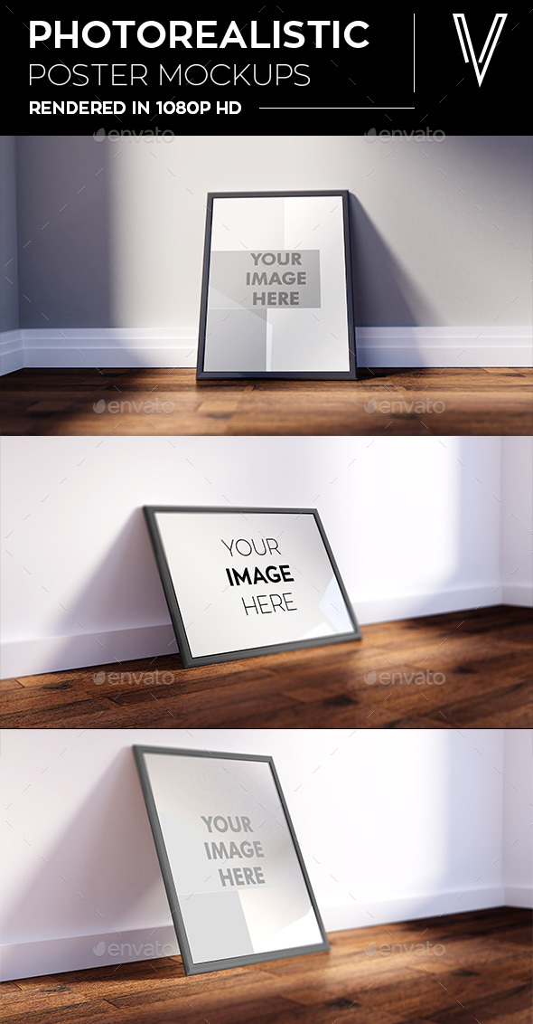 Photo realistic Photo Frames - Posters Print