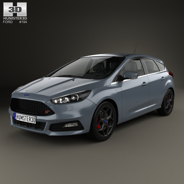 Ford Focus ST 2015 - 3DOcean Item for Sale