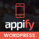 Appify - Multipurpose One Page Mobile App landing page WordPress Theme