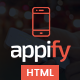 Appify - Multipurpose One Page Mobile App landing page HTML Nulled