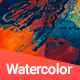 144 Watercolor Backgrounds Nulled