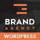 Brand Agency - One Page WordPress Theme for Agency / Business