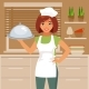 Woman Cook - GraphicRiver Item for Sale