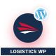 Logistics WordPress Theme | Logistics WP (Logistics, Transportation, Cargo) Nulled