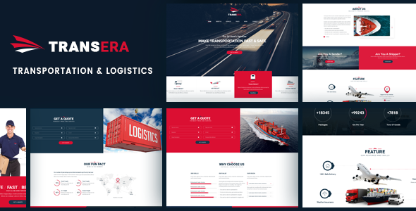 Logistics WordPress Theme | Logistics WP (Logistics, Transportation, Cargo)