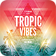 Tropic Vibes CD Cover Artwork - GraphicRiver Item for Sale