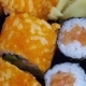 Japanese Sushi Rolls  Is Moving - VideoHive Item for Sale