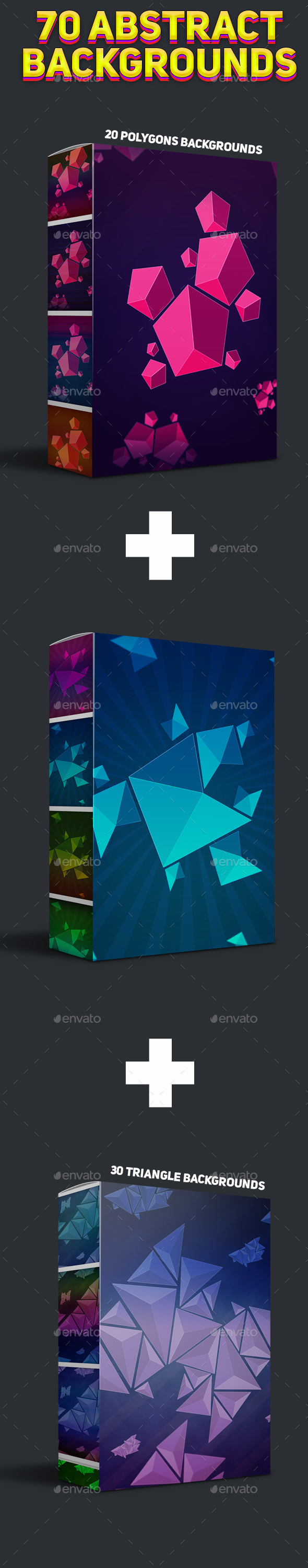 70 Abstract Backgrounds Bundle - Abstract Backgrounds