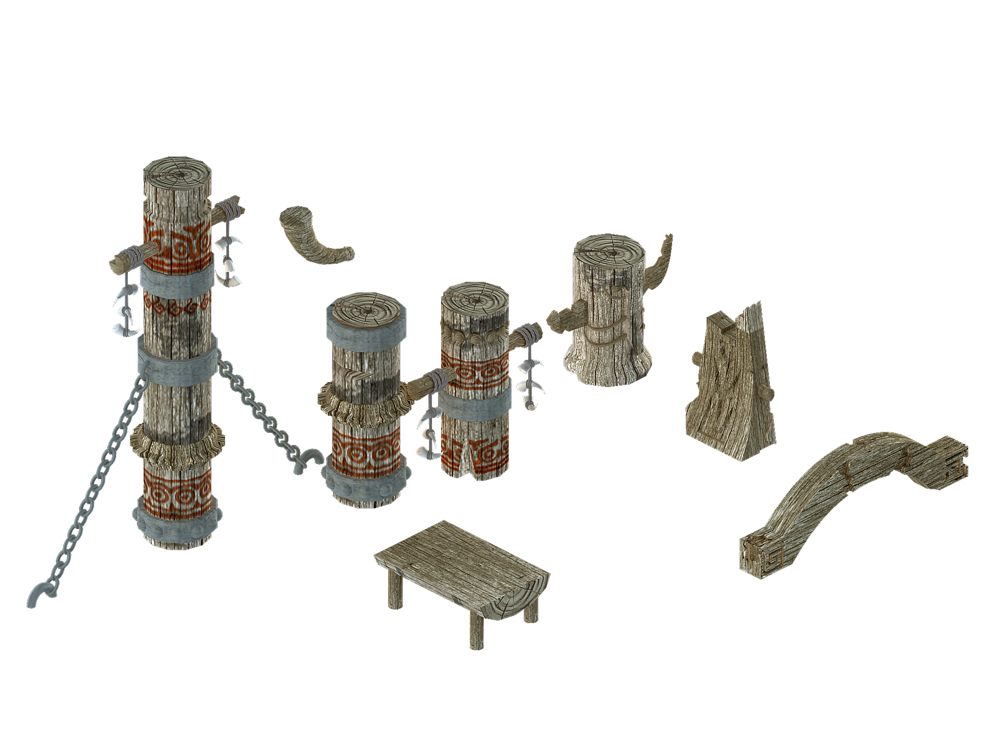 Comparable station - pillar accessories