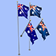 Australia Flag - 3DOcean Item for Sale