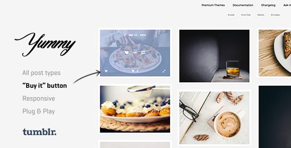 Yummy | Creative Portfolio Tumblr Theme - Portfolio Tumblr
