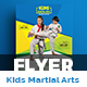 Kids Martial Arts Training Center Flyer
