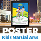Kids Martial Arts Training Center Poster