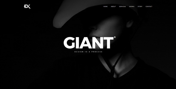 Giant || Responsive Coming Soon Page
