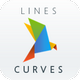 Lines and curves | PowerPoint Template - GraphicRiver Item for Sale