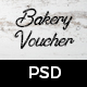 Bakery Gift Voucher - GraphicRiver Item for Sale
