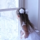 Child Draws a Finger on the Window Glass - VideoHive Item for Sale