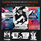 Electro Music Flyer/Poster Bundle Vol. 43 - GraphicRiver Item for Sale