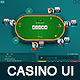 Casino Poker Table Game Ui