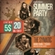 Summer Party Flyer / Poster Vol 7 - GraphicRiver Item for Sale