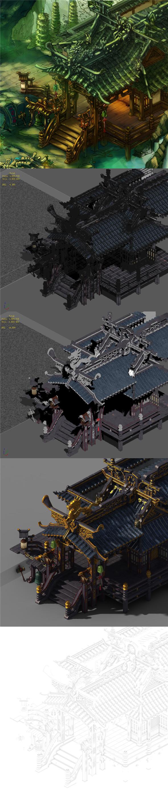 Dali Duan - house - 3DOcean Item for Sale