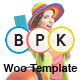 BPK Shop - WooCommerce Responsive  Theme Nulled