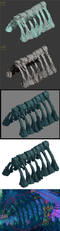 Submarine maze - keel - 3DOcean Item for Sale