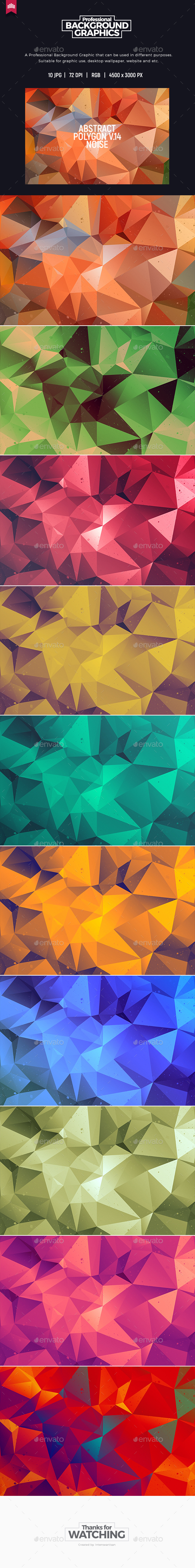 Abstract Polygon V.14 - Background