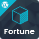 Fortune - Business Consulting and Professional Services WordPress Theme Nulled