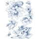 Vintage Botanical Illustration Blossom Flowers - GraphicRiver Item for Sale