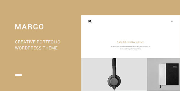 Margo - Creative Portfolio WordPress Theme - Portfolio Creative