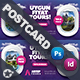 Travel Tour Postcard Templates - GraphicRiver Item for Sale