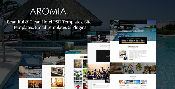 Hotel Booking PSD Template SkyLine
