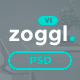 Zoggl - Marketing Website PSD Template Nulled