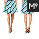 10x Women Skirts Mock-up - GraphicRiver Item for Sale