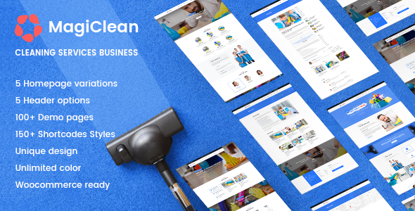Cleaning Company WordPress | MagiClean - Business Corporate