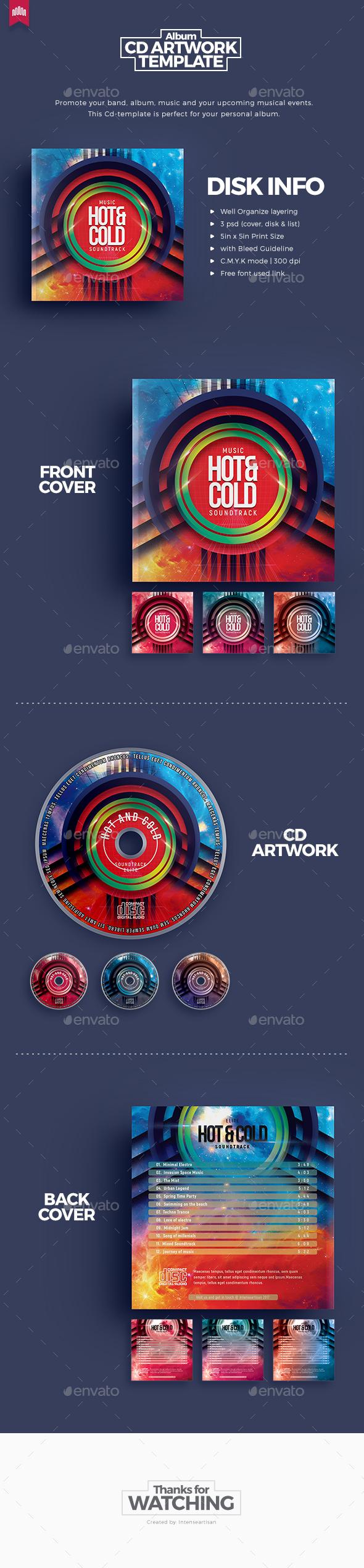 Electro - Cd Artwork - CD & DVD Artwork Print Templates
