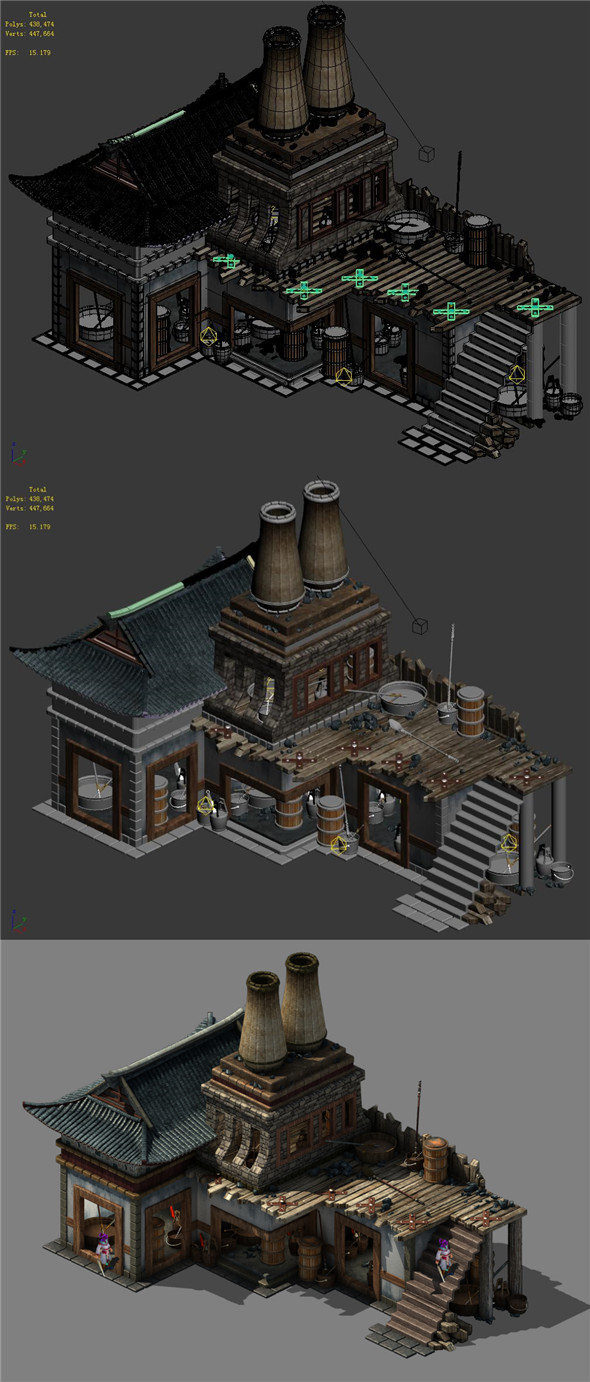 Capital city planning - blacksmith shop - 3DOcean Item for Sale