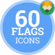 Flag Icons - Flat Animated Icon Pack vol.1