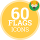 Flag Icons - Flat Icon Set vol.2