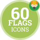 Flag Icons - Flat Animated Icon Package vol.3