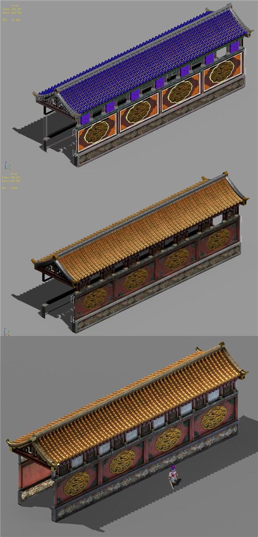 Capital city planning - corridor - 3DOcean Item for Sale
