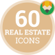 Estate Flat Icons